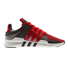Adidas Eqt Support Adv Black Red (Черные с красным)