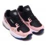 Adidas Falcon pink/black (розовые с черным)