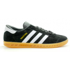 Adidas Hamburg black/white (черные с белым)