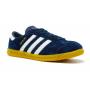 Adidas Hamburg blue/white (синие с белым)