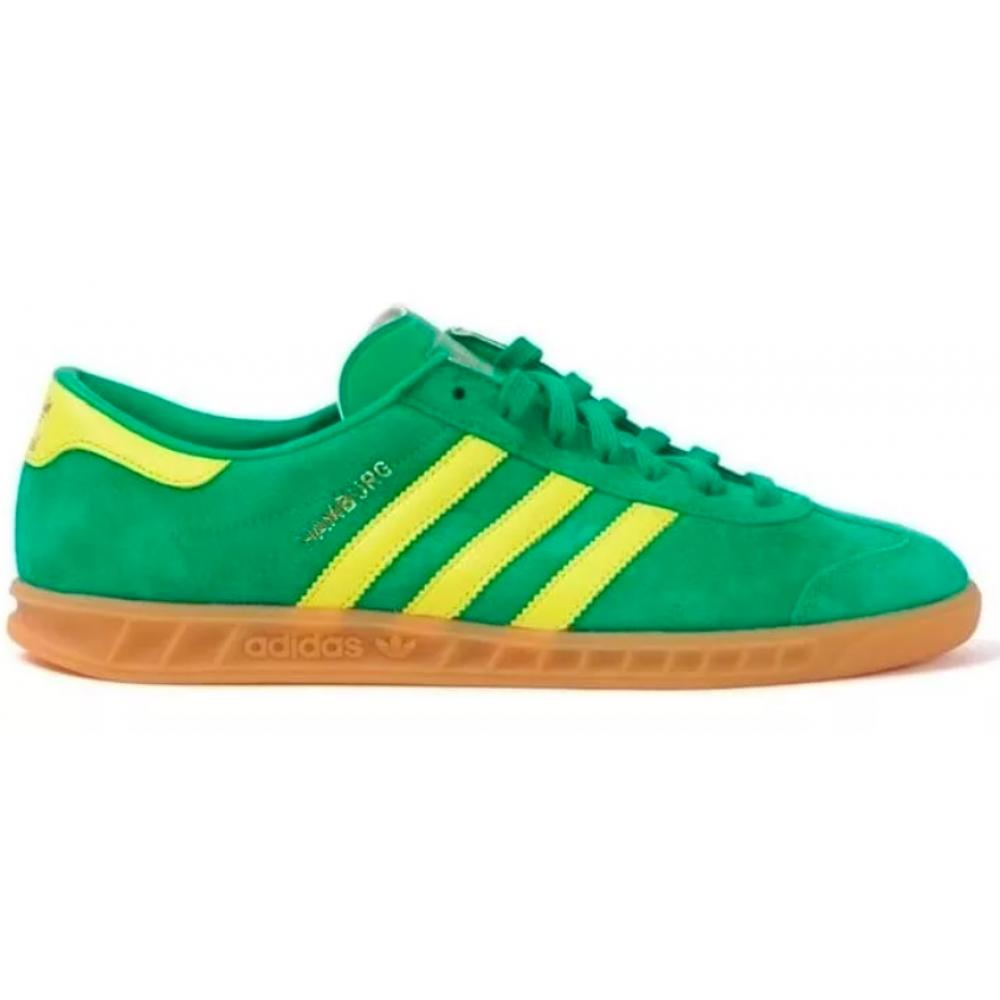 Adidas Hamburg green/yellow (зеленые с желтым)