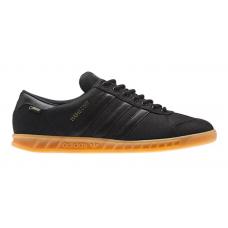 Adidas Hamburg black (черные полностью)