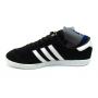 Adidas Hamburg black white (черные с белой подошвой)