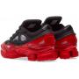 Adidas Raf Simons Ozweego 3 Black Red (Черные с красным)