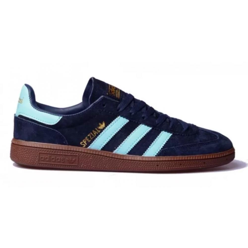 Adidas Spezial blue (синие с голубым)