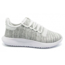 Adidas Tubular Shadow gray white (серые с белым)