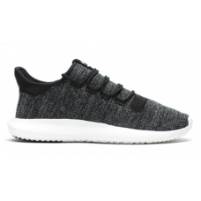 Adidas Tubular Shadow black white (черные с белым)