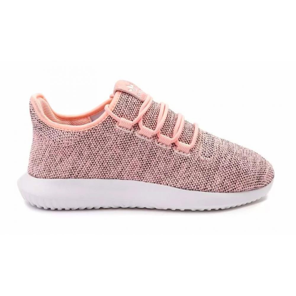 Adidas Tubular Shadow pink white (розовые с белым)
