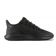 Adidas Tubular Shadow black (черные кожа)