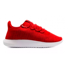 Adidas Tubular Shadow red white (красные с белым)
