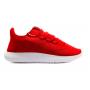 Adidas Tubular Shadow red white (красные с белым)