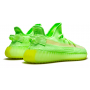 Adidas Yeezy Boost 350 V2 Glow (салатовые)