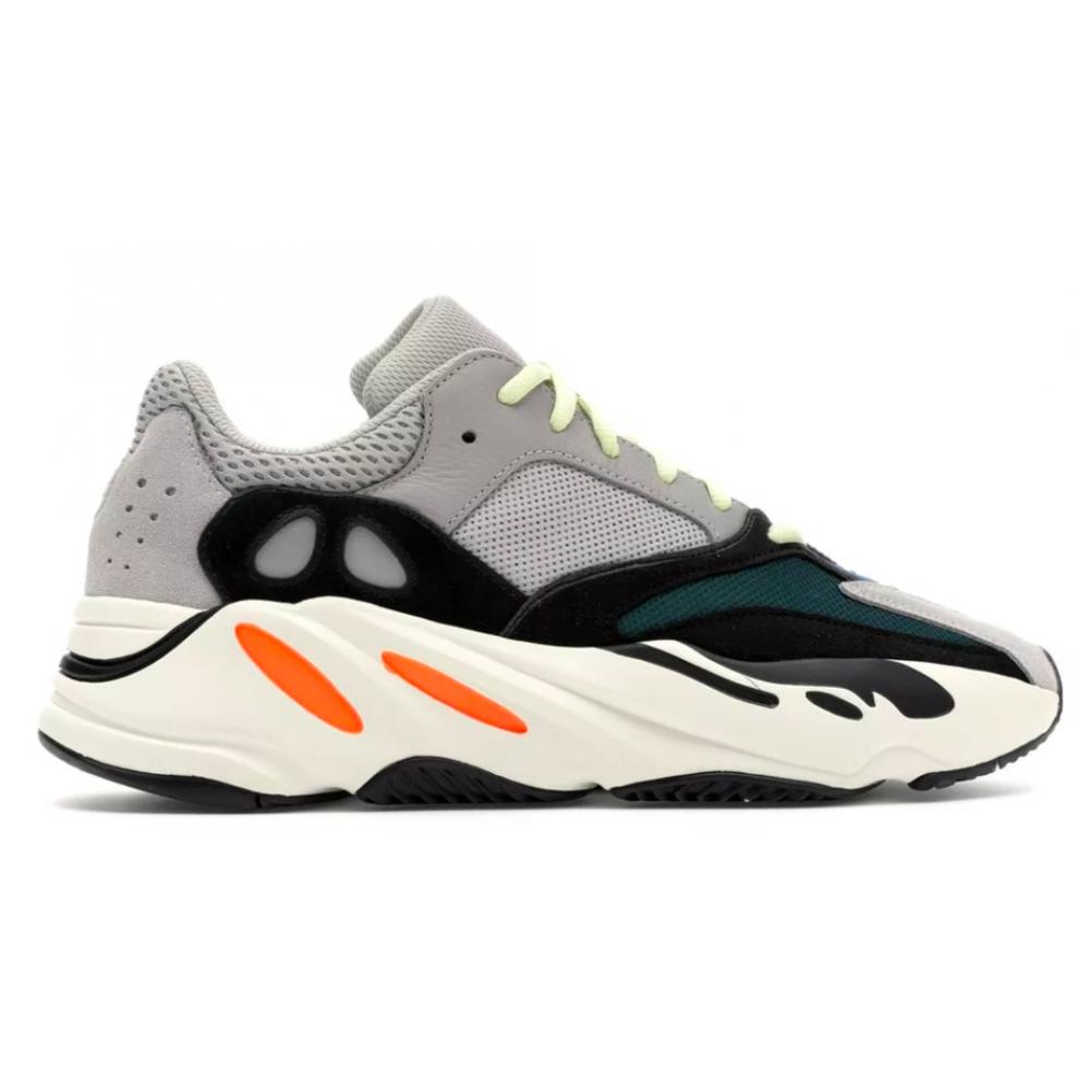 Adidas Yeezy Boost 700 grey/green (серые с зеленым)