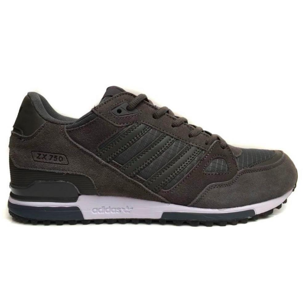 Adidas Zx 750 dark/gray (темно-серые)