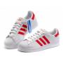 Adidas Superstar (White Red)