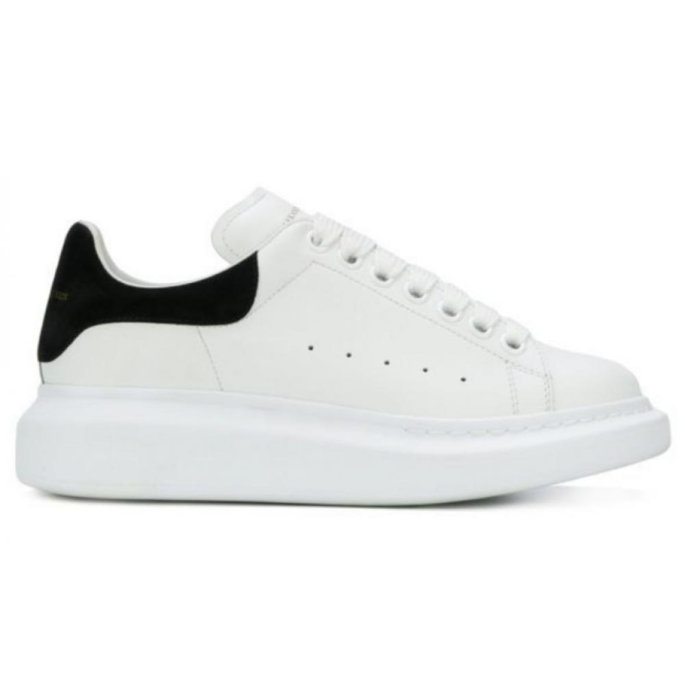 Alexander McQueen black white (белые с черным)