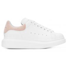 Alexander McQueen pink white (белые с розовым)