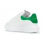 Alexander McQueen green white (белые с зеленым)