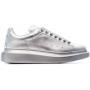 Alexander McQueen silver white (белые с серебром)