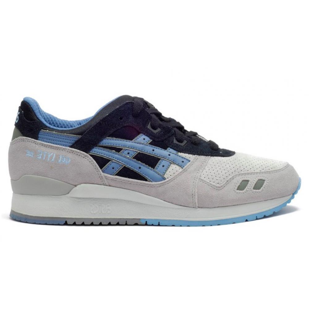 Asics Gel Lyte 3 gray blue (серые с синим)