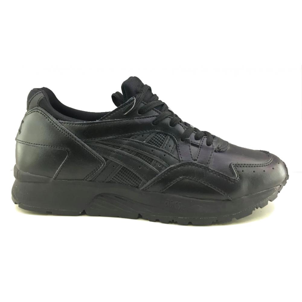 Asics Gel Lyte 5 black (черные кожа)