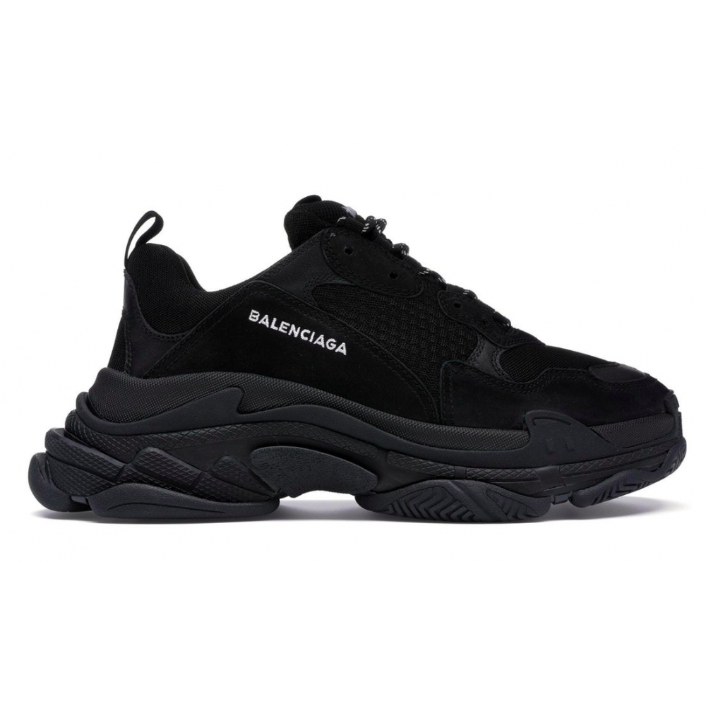 Balenciaga Triple S (All Black)