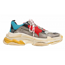 Balenciaga Triple S (Blue Red)