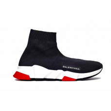 Balenciaga Speed Trainer Black Red (черные с красным)
