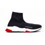 Balenciaga Speed Trainer Black Red (черные с красным)
