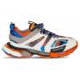 Balenciaga Track Trainers Grey Orange (серые с оранжевым)