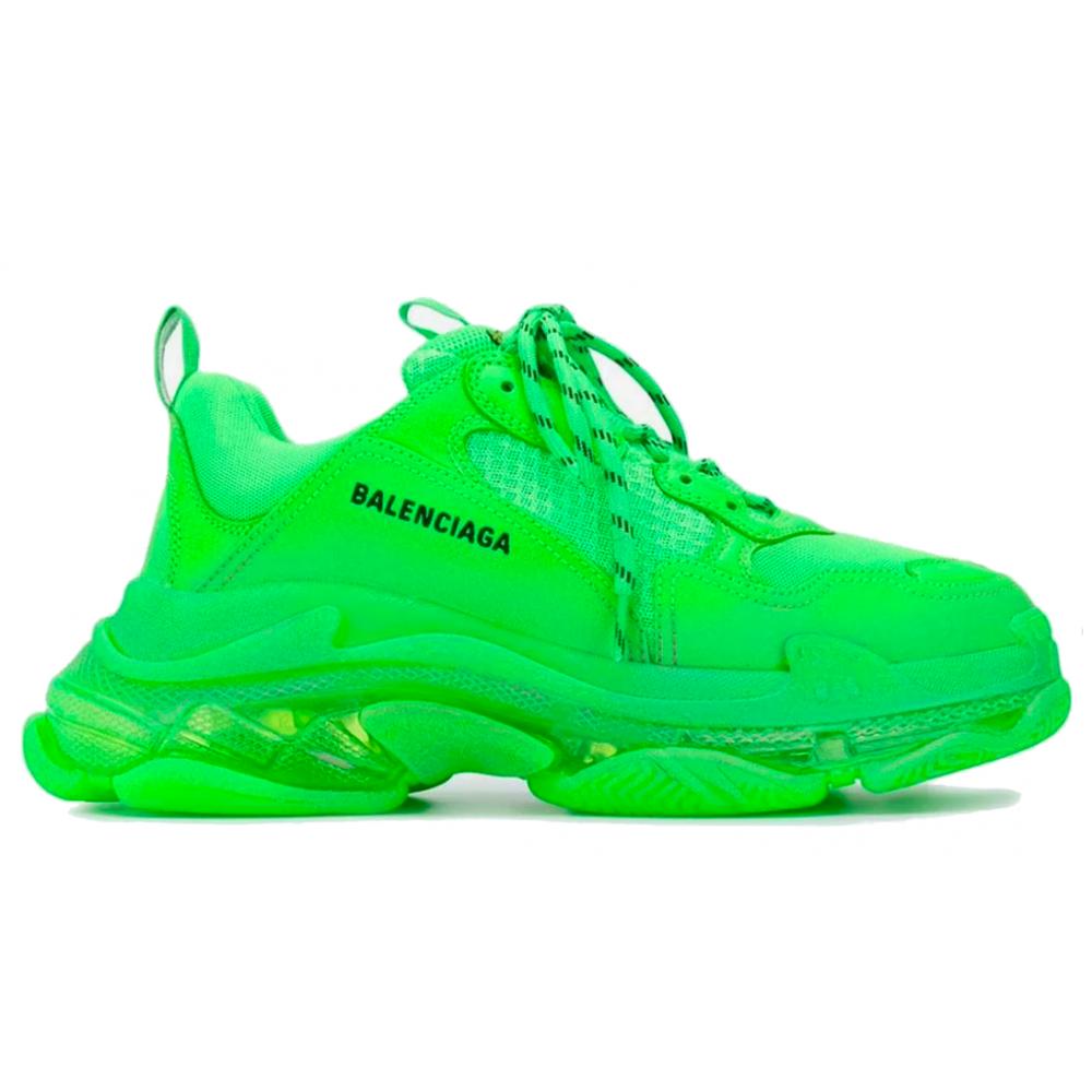 Balenciaga Triple S Green (зеленые)