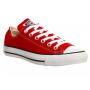 Converse Chuck Taylor All Star red white (красные с белым)