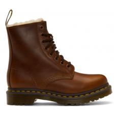 Dr Martens 1460 brown (коричневые с мехом)