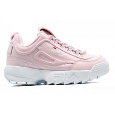 Fila Disruptor 2 Pink White (кожа)