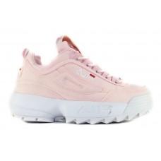Fila Disruptor 2 Pink White (замша)