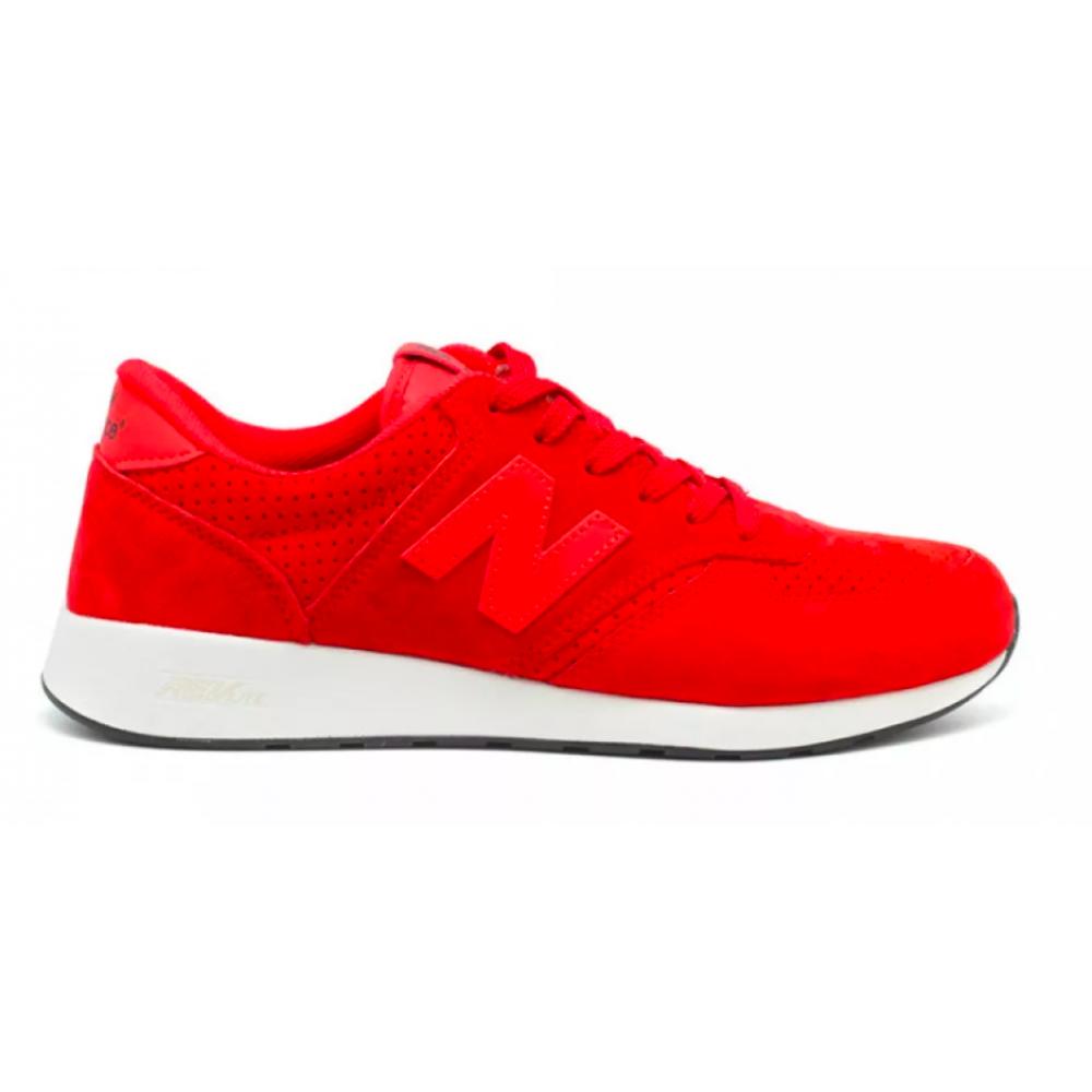 New Balance 420 red (красные с белым)