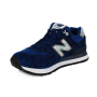 New Balance 574 Cif blue/chameleon (синие с хамелеоном)