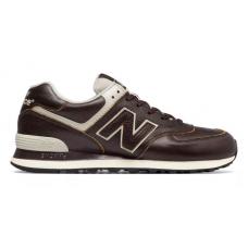 New Balance 574 Lua Brown (коричневые кожа)