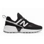 New Balance 574 Sport V2 Black White (Черные с белой подошвой)