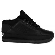 New Balance 754Bs black (кожаные черные)