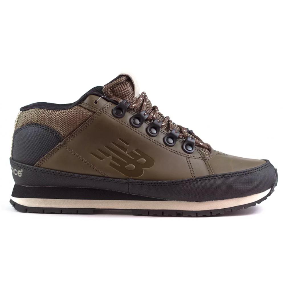 New Balance 754 brown (коричневые без меха)
