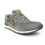 New Balance 996 grey/bronze (серые с бронзой)