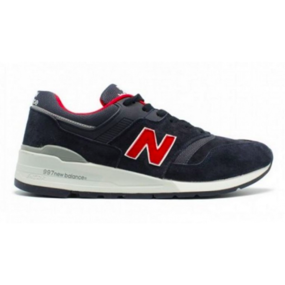 New Balance 997 Sport Usa blue red (синие с красным)