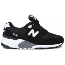 New Balance 999 Bw black (черные с белым)
