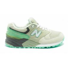 New Balance 999 grey/green (серые с зеленым)