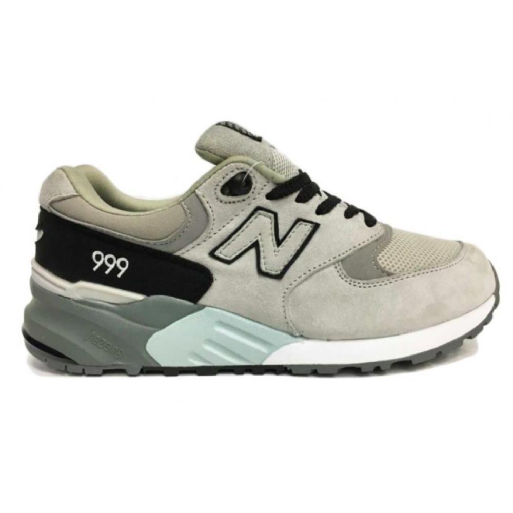 New Balance 999 grey/black (серые с черным)