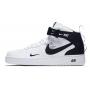Nike Air Force 1 '07 LV8 Mid (высокие белые)