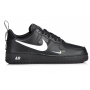 Nike Air Force 1 '07 LV8 Mid (низкие черные)