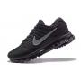 Nike Air Max 2017 (черные с серым)