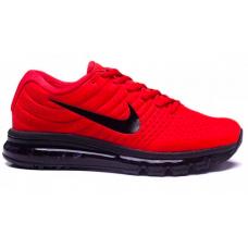 Nike Air Max 2017 (красные с черным)